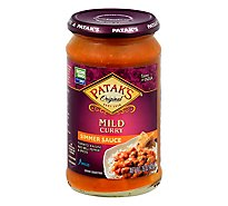 Pataks Mild Curry Sauce - 15 Oz