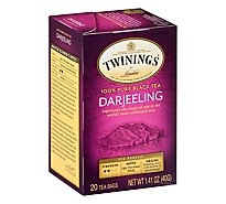 Twinings of London Black Tea Darjeeling - 20 Count