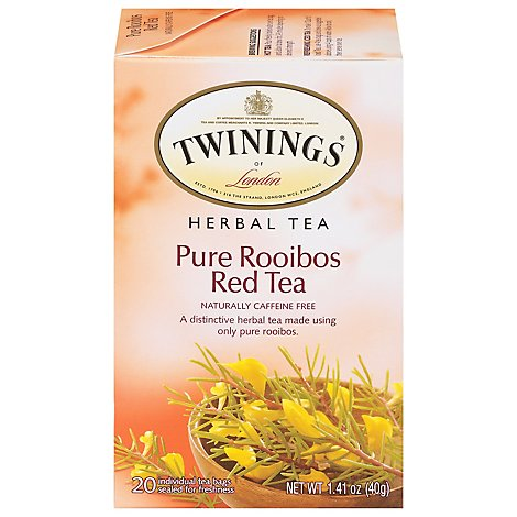 Twinings Tea Red Herbal Pure Rooibos - 20 Count