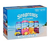 Seagrams Escapes Malt Beverage Variety Pack - 12-12 Fl. Oz.