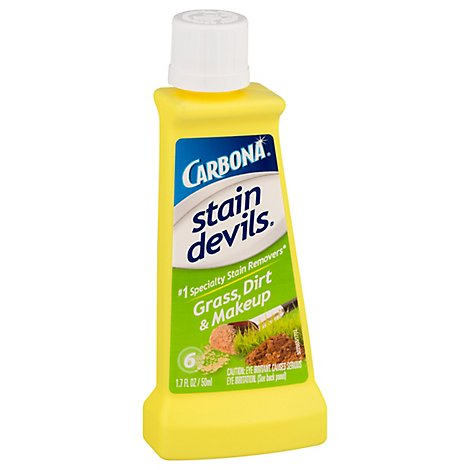 Carbona Stain Devils Stain Remover Grass Dirt & Makeup Bottle - 1.7 Fl. Oz.