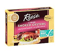 Reese Oysters Smoked Colossal - 3.70 Oz