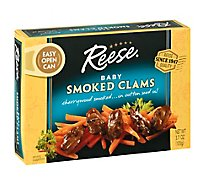 Reese Clams Baby Smoked - 3.66 Oz