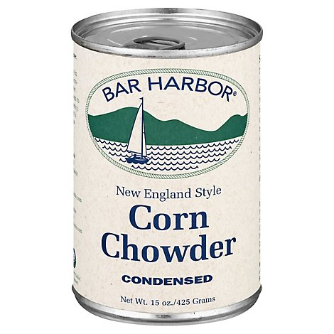 Bar Harbor Chowder Condensed Corn New England Style - 15 Oz