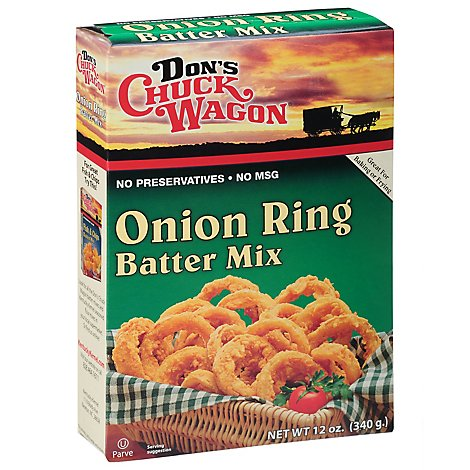 Dons Chuck Wagon Onion Ring Mix - 12 Oz