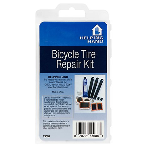 Helping Hand Bicyle Tire Repair Kit - Each