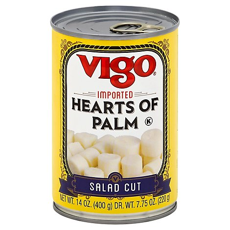 Vigo Hearts of Palm Salad Cut - 14 Oz