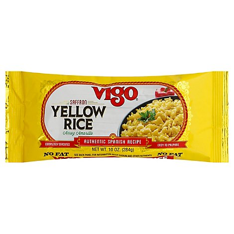 Vigo Rice Yellow Saffron Bag - 10 Oz