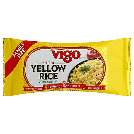 Vigo Rice Yellow Saffron Bag - 16 Oz