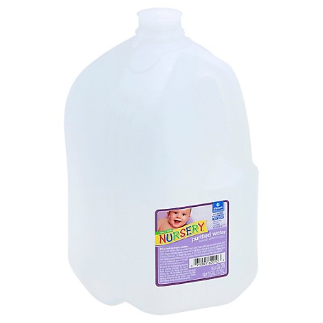 Nursery Purified Water Without Flouride - 1 Gallon