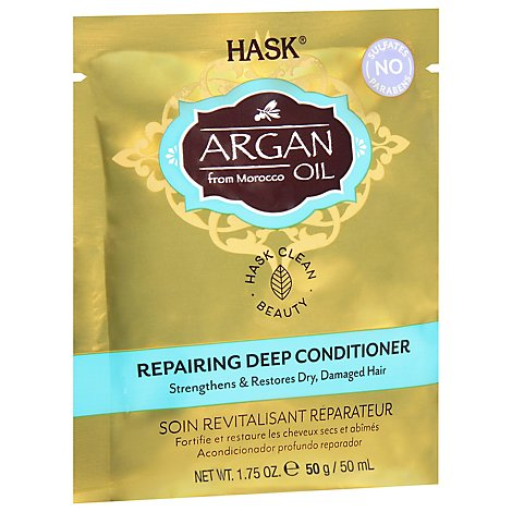 Hask Argan Oil from Morocco Hair Treatment Intense Deep Conditioning - 1.75 Oz