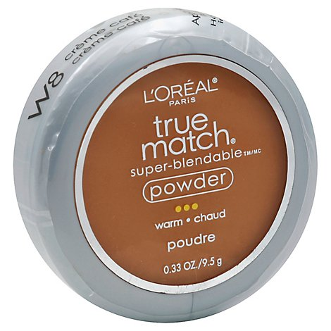 Loreal True Match Powder Cafe Light - 0.40 Oz