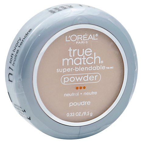Loreal True Match Powdr Ivory Light - 0.40 Oz