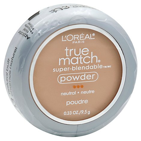 Loreal True Match Powder Buff Light - 0.40 Oz