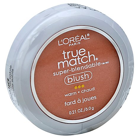 LOreal True Match Blush Super-Blendable Warm - 0.21 Oz
