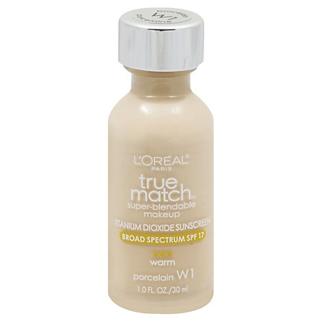 Loreal True Match Makeup Porcelain - 1 Oz