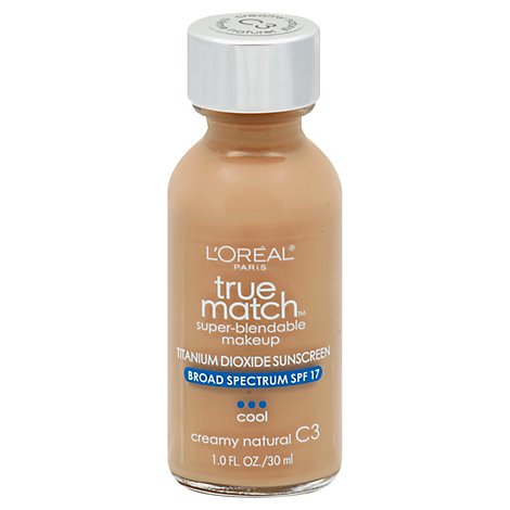 Loreal True Match Makeup Creamy Natural - 1 Oz