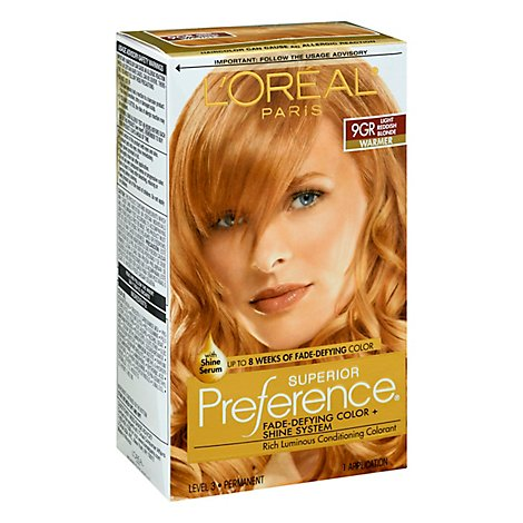 LOreal Superior Preference Lt Gld Blonde 9g - Each