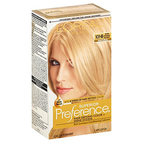Loreal Superior Preference Ultra Natural Blonde - Each