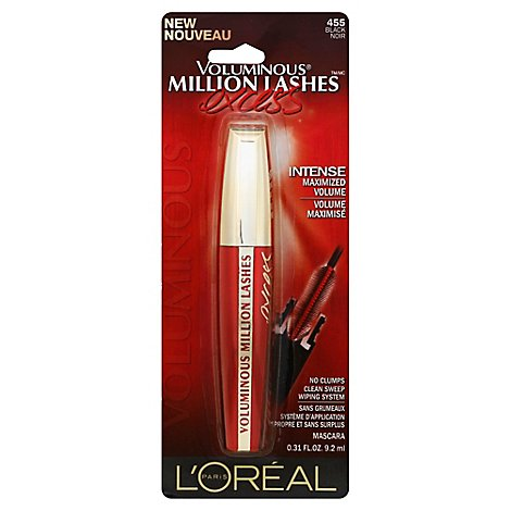 Loreal Voluminous Mascara Mil Lsh Excess Black - 0.31 Oz