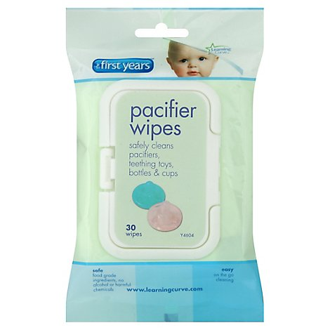 First Years Wipes Pacifier - 40 Count