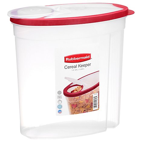 Rubbermaid Cereal Keeper - 1.5 Gallon