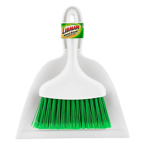 Libman Duster Pan/Whisk Broom - Each