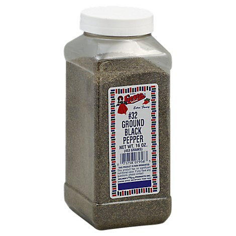 Fiesta Ground Black Pepper - 16 Oz