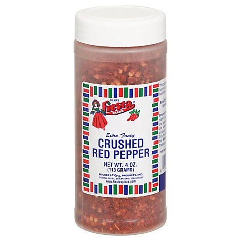 Crushed Red Pepper Prepacked - 6 Oz