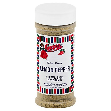 Lemon Pepper - 6 Oz