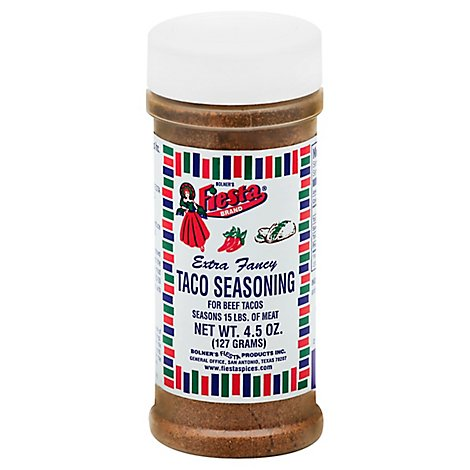 Taco Seasoning - 4.5 Oz