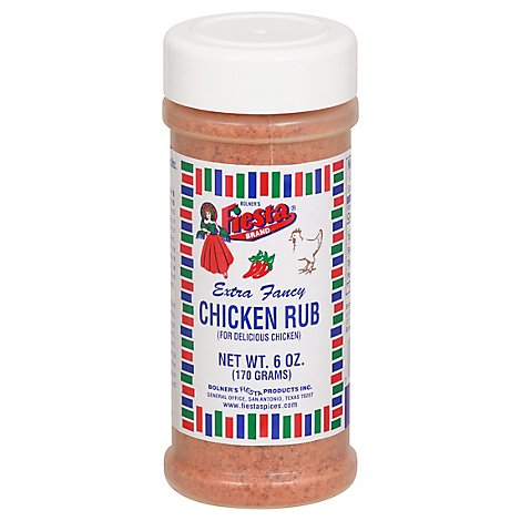 Fiesta Chicken Rub - 6 Oz
