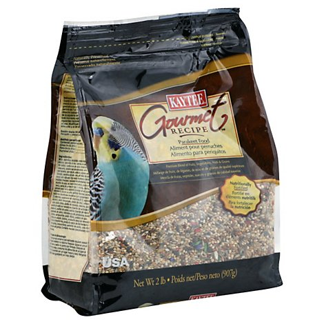 Kaytee Gourmet Recipe Pet Food Parakeet Bag - 2 Lb