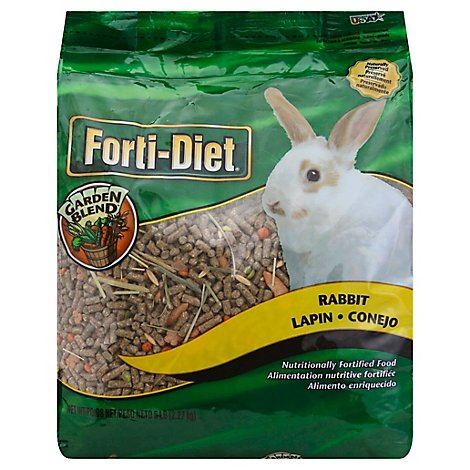 Kaytee Forti-Diet Pet Food Rabbit Garden Blend Bag - 5 Lb