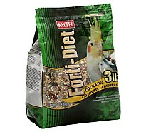 Kaytee Forti-Diet Pet Food Cockatiel Bag - 3 Lb