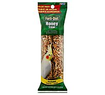 Kaytee Forti-Diet Pet Food Treat Honey Cockatiel Value Pack - 8 Oz