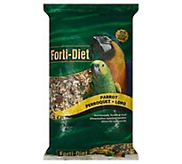 Kaytee Forti-Diet Pet Food Parrot Bag - 8 Lb