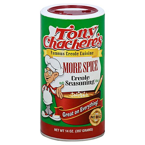 Tony Chacheres Seasoning More Spice - 14 Oz