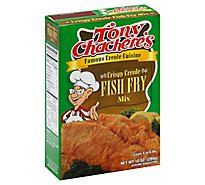 Tony Chacheres Fish Fry Mix Crispy Creole - 10 Oz