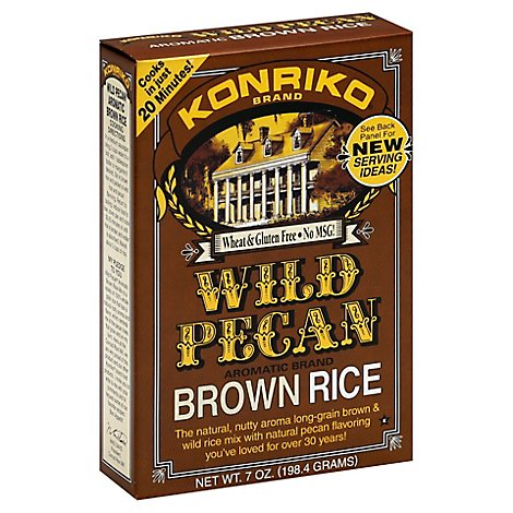 Konriko Wild Brown Rice - 7 Oz