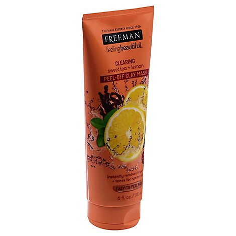 Freeman Peel Mask Btf Sweet Tea Lemon - 6 Fl. Oz.