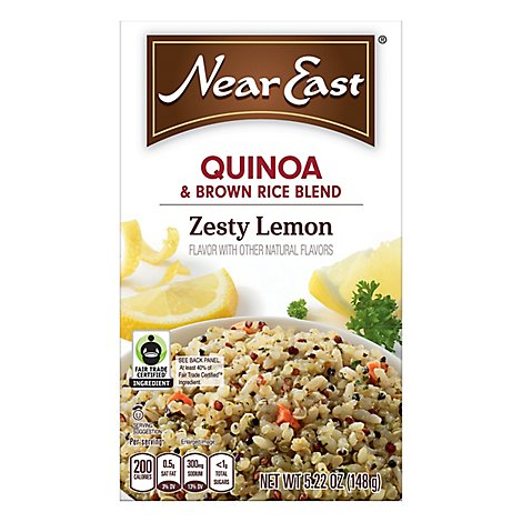 Near East Quinoa Zesty Lemon - 5.22 Oz