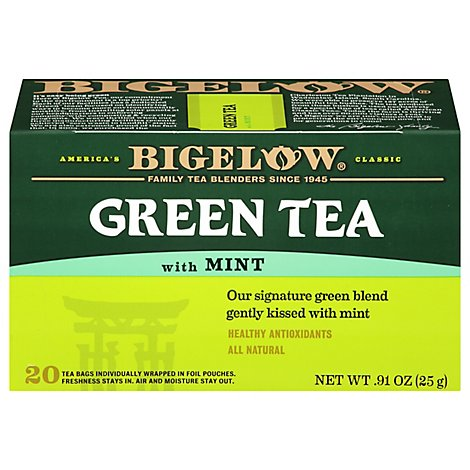 Bigelow Green Tea with Mint - 20 Count