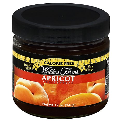 Walden Farms Fruit Spread Sugar Free Apricot - 12 Oz
