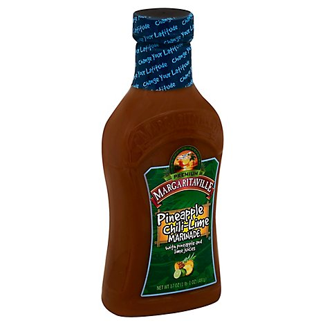 Margaritaville Premium Marinade Pineapple Chili-Lime - 17 Oz