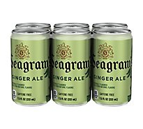 Seagrams Soda Ginger Ale - 6-7.5 Fl. Oz.