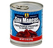 San Marcos Peppers Chilpotle In Adobo Sauce Can - 7.5 Oz