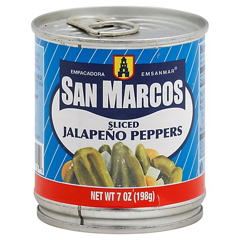San Marcos Peppers Jalapeno Sliced - 7 Oz