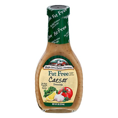 Maple Grove Farms Dressing Fat Free Caesar - 8 Fl. Oz.