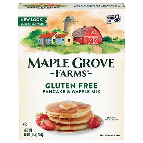 Maple Grove Pancake Mix Gluten Free - 16 Oz